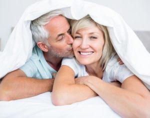 Pleasing men in bedroom